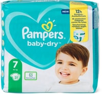 Pampers Baby Dry Gr. 7, Extra Large 15+kg