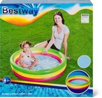 "Bestway Planschbecken ""Summer Set Pool"" 3-Ringe Planschbecken"