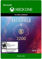 Xbox One - Battlefield V Currency 2200 Download (ESD)