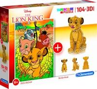 Puzzle 3D Le Roi Lion 104p.