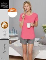Pyjama Ellen Amber pour femme, Bio Cotton