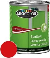 Miocolor Synthetic Laque colorée satinée Rouge feu 375 ml