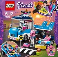 Lego Friends Camion di servizio e manutenzione 41348