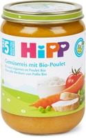 Bio HiPP Gemüsereis Poulet