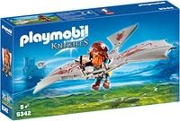 Playmobil Guerriero con deltaplano da attacco