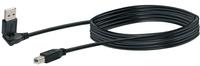 Schwaiger Cable USB 2.0 1.5m noir, USB 2.0 typeA 360° / USB 2.0 typeB