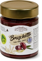 La Trattoria Bruschetta schwarze Oliven, Bio