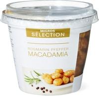 Sélection macadamia Romarin / poivre