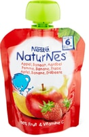 Nestlé NaturNes Quetschbeutel Apfel Erdbeere Banane