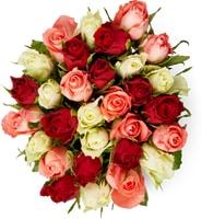 Bouquet di rose Fairtrade