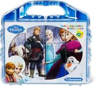 Disney Frozen Puzzle cubi 12 pezzi