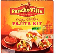 Pancho Villa Crispy Chicken Fajita Kit