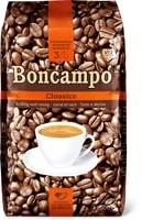 Tous les cafés Boncampo en grains ou moulus, 500g et 1kg, UTZ