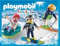 Playmobil Family Fun Vacanciers aux sports d'hiver 9286
