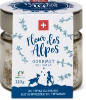 Salz Fleur des Alpes Thymian