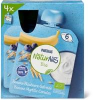 Nestlé Bio Yogurt banane myrtille