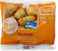 Pommes de terre raclette micro-onde «De la région.»