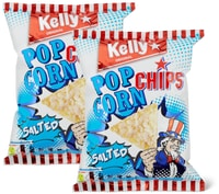 Popcorn Chips Kelly salati in conf. da 2