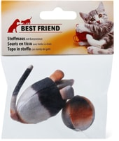 Topo in stoffa con menta per gatti