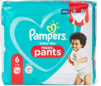 Pampers Baby Dry Pants Gr. 6, Extra Large 15+kg