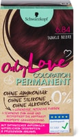 Schwarzkopf Only Love Coloration 6.84 dunkle Beere