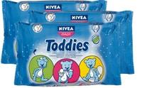 Nivea Baby Toddies Refill Feuchttücher im 3er-Pack
