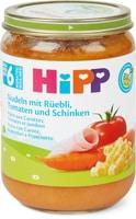 Bio HiPP Nudeln Rüebli Tom.&Schinken