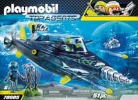 PLAYMOBIL 70005 Sous-marin d'attaque