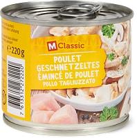 M-Classic Poulet-Geschnetzeltes