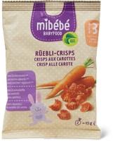 Crisp alle carote Mibébé
