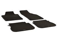 WALSER Set de tapis en caoutchouc FIAT Tapis de voiture