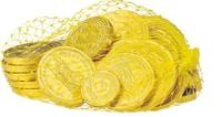 Frey monete di cioccolato in retina, 150g