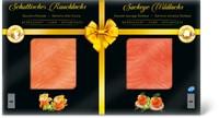 Variazione di salmone affumicato per le feste