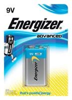 Energizer Advanced 9V 1p.