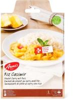 Anna's Best Poulet curry & riz