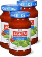 Sauce tomate Agnesi au basilic, en lot de 3