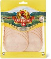 Poitrine de poulet Optigal cuite, tranchée, en emballage spécial
