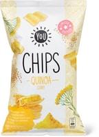 Chips di quinoa al curry You