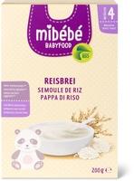 Mibébé semoule de riz