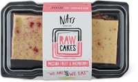 Nats Raw Cakes Passion Fruit & Raspberry, vegan