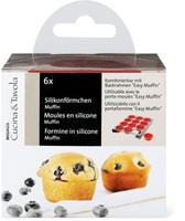 Cucina & Tavola Silikonförmchen Muffin