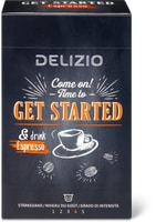 Delizio Get Started and drink Espresso, UTZ