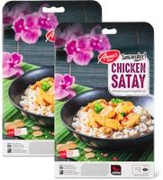 Snacks ou plats préparés, Anna's Best Asia, en lot de 2