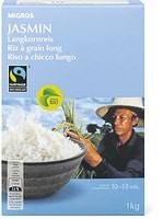 Bio Max Havelaar Riz grain Jasmin