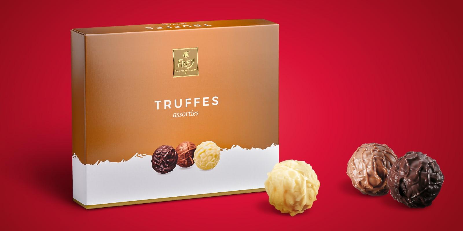 Les délicieuses truffes Frey