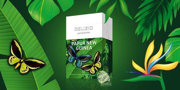 Limited Edition Papa New Guinea von Delizio testen
