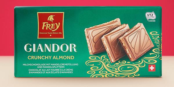 Testez gratuitement Giandor Crunchy Almond