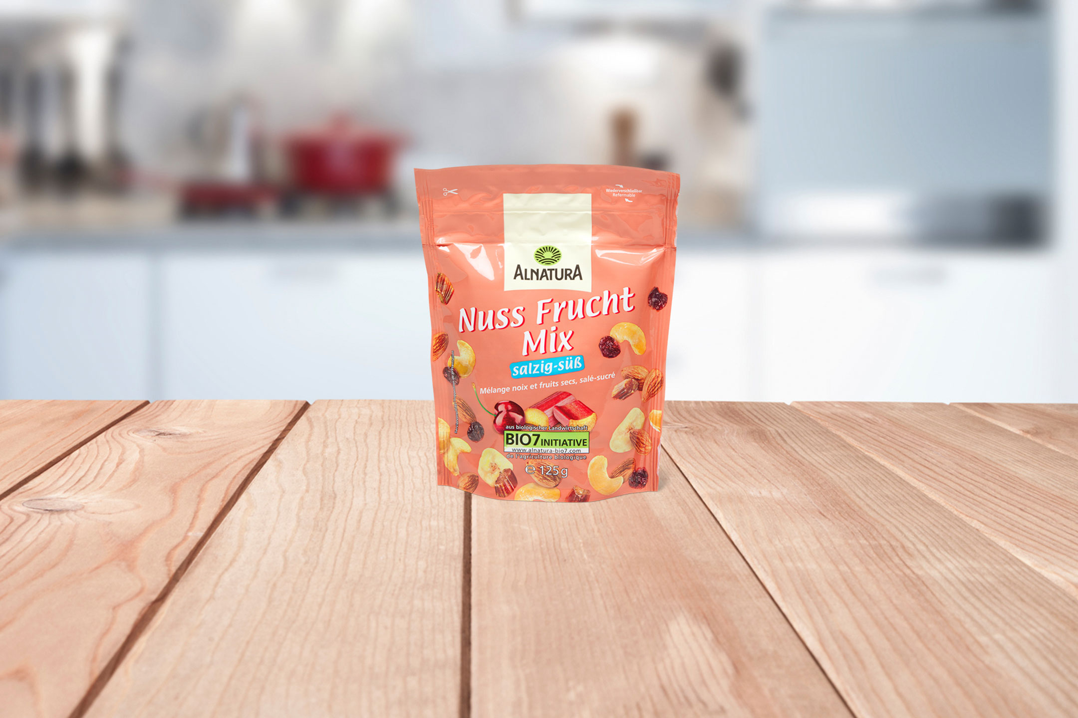 Tester gratuitement le mélange de fruits et de noix Alnatura