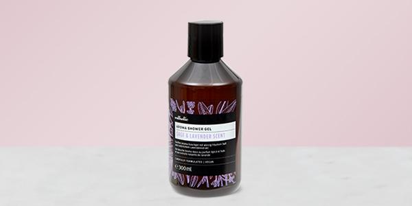 Testez gratuitement le gel douche Esthetic parfumé à la sauge et à la lavande