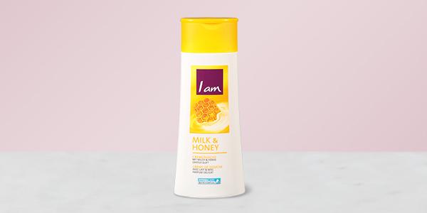 Gratis testen: I am Cremedusche Milk & Honey